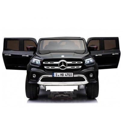 Электромобиль Mercedes-Benz X-Class 4WD XMX606 черный (2х местный, полный привод, резина, кожа, пульт, музыка)