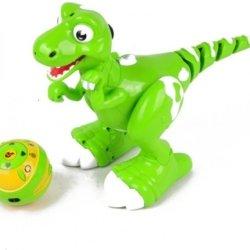 Радиоуправляемый интерактивный динозавр с паром Jiabaile Dinosaur - 908A